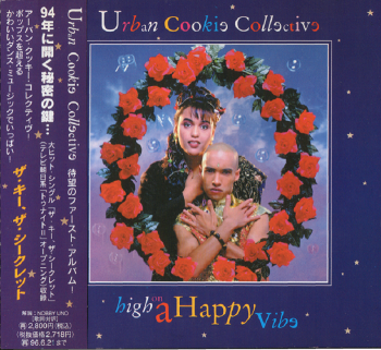 Urban Cookie Collective - High On A Happy Vibe [Japan] (1994) HQ