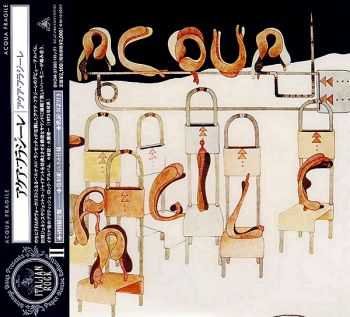 Acqua Fragile - Acqua Fragile (1973) [Japan Mini-LP CD 2004]