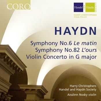 Handel and Haydn Society - Joseph Haydn - Symphonies No.6 & 82 (2013)