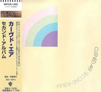 Curved Air - Second Album (1971) [Japan 1st Press, 1997]