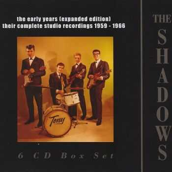 The Shadows - The Early Years: Their Complete Studio Recordings 1959-1966 [Expanded Edition Box Set] (2013) HQ