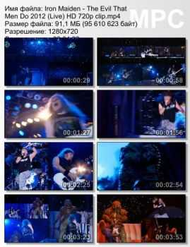 Iron Maiden - The Evil That Men Do (2012) (Live)