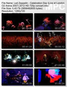 Led Zeppelin - Celebration Day (Live at London O2 Arena 2007) (2012) (HD 720p)