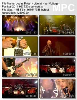Judas Priest - Live at High Voltage Festival (2011)