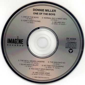 Donnie Miller - One Of The Boys (1989) (Lossless+Mp3)