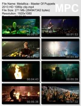 Metallica - Master Of Puppets (2013) (Live)