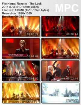 Roxette - The Look (2011) (Live) (HD 1080)