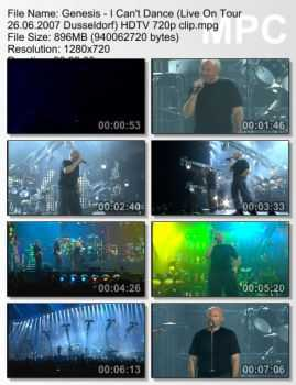Genesis - I Can't Dance (Live On Tour 26.06.2007 Dusseldorf) (HDTV 720p)