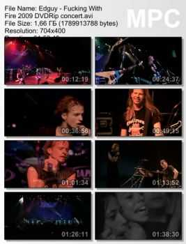 Edguy - Fucking With Fire (2009) DVDRip
