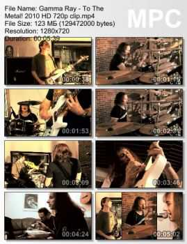 Gamma Ray - To The Metal! (2010) (HD 720p)
