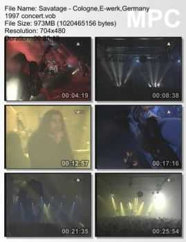 Savatage - Live in Cologne, Germany (1997) (DVDRip)