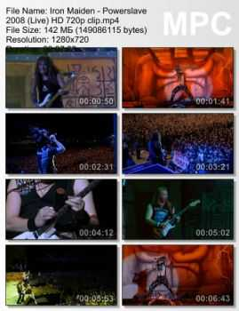 Iron Maiden - Powerslave (2008) (Live)