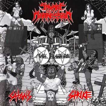 Savage Aggression - Satan's Strike (Reissue) (2013)