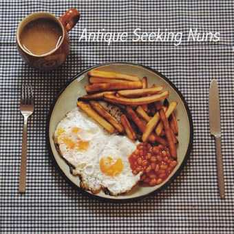 Antique Seeking Nuns - Double Egg With Chips & Beans (And A Tea) [EP] (2006)
