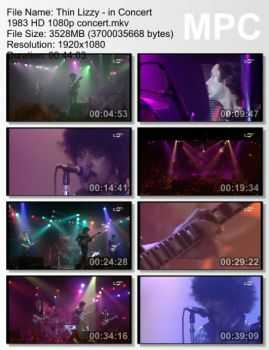 Thin Lizzy - In Concert (1983) HD 1080p