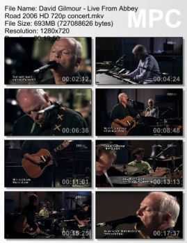 David Gilmour - Live From Abbey Road (2006)