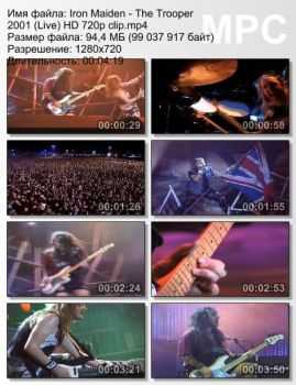 Iron Maiden - The Trooper (2001) (Live)