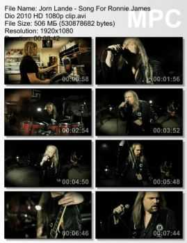 Jorn Lande - Song For Ronnie James Dio (2010)