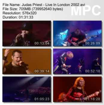 Judas Priest - Live In London (2002) (DVDRip)