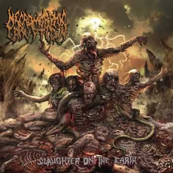 Necromorphic Irruption - Slaughter On The Earth (2013)