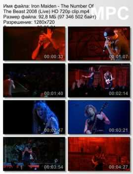 Iron Maiden - The Number Of The Beast (2008) (Live)