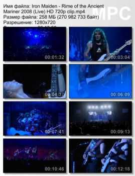 Iron Maiden - Rime of the Ancient Mariner (2008) (Live)