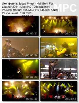 Judas Priest - Hell Bent For Leather (2011) (Live)