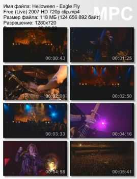 Helloween - Eagle Fly Free (Live) (2007)