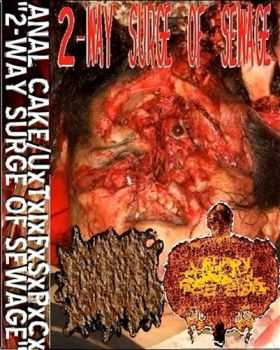 Anal Cake & Urinary Tract Infection Fom Severe Pus Clots - 2-way Surge Of Sewage (Split) (2011)