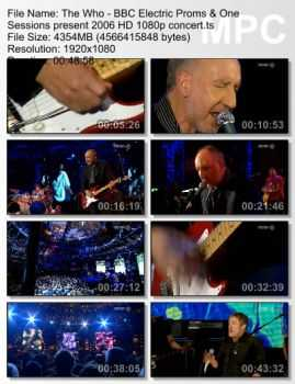 The Who - BBC Electric Proms & One Sessions Present (2006) (BDRip HD 1080p)