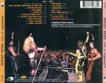 Twisted Sister - Live At Hammersmith (2 CD Live)