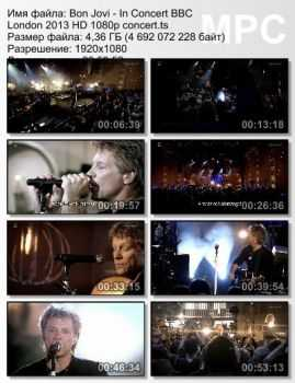 Bon Jovi - In Concert BBC London (2013) (HD 1080p)
