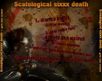 Scatological Sixxx Death - Girls Shit Vicious (Demo) (2013)