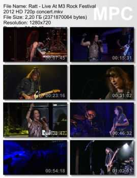 Ratt - Live At M3 Rock Festival (2012) (HD 720p)