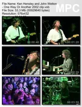 Ken Hensley and John Wetton - One Way Or Another (2002)