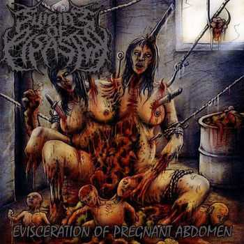 Suicide Of Disaster - Evisceration Of Pregnant Abdomen (2014)