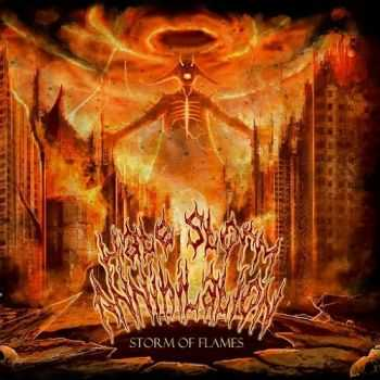Hate Storm Annihilation - Storm Of Flames (2014)