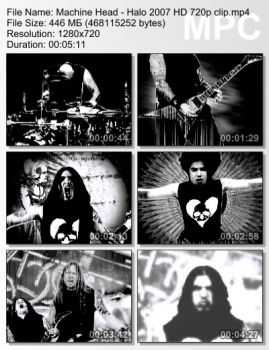 Machine Head - Halo (2007) HD 720p