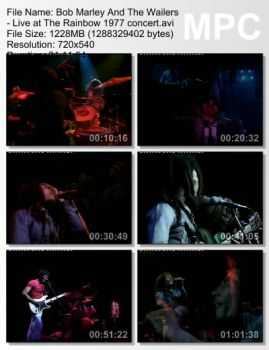 Bob Marley And The Wailers - Live at The Rainbow (1977)