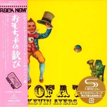 Kevin Ayers - Joy Of A Toy (1969) [2014 Remaster Japan Mini LP SHM-CD Edition] HQ