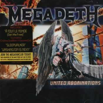 Megadeth - United Abominations (2007) Mp3 + Lossless