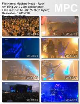 Machine Head - Rock Am Ring (2012)