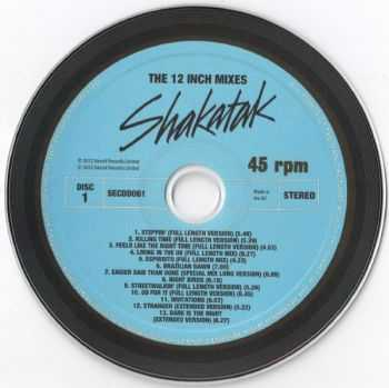 Shakatak - The 12 Inch Mixes/ 2CD Set (2012)