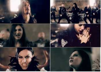 Lacuna Coil - I Forgive (But I Won't Forget Your Name) (VIDEO) (2014)