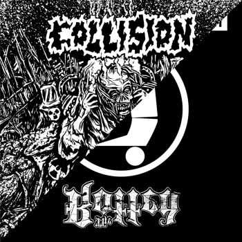 Collision & The Rotted - split (2014)