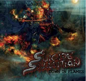 Suicide Salvation - Down In Flames (2013)
