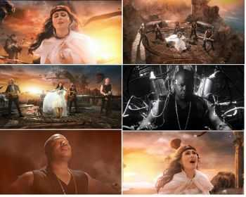 Within Temptation - And We Run (Feat. Xzibit) (VIDEO) (2014)