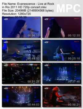 Evanescence - Live at Rock in Rio (2011)