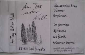 Am Tag unter Null - Seven Sad Forests (1992)