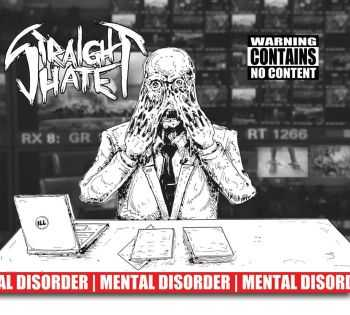 STRAIGHT HATE - Mental Disorder EP (2014)